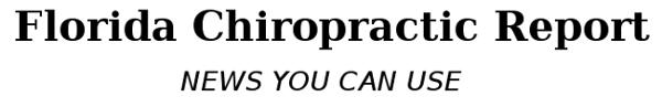 Florida Chiropractic Report